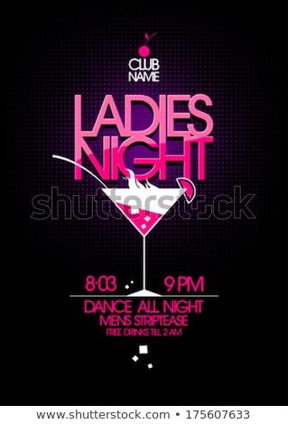striptease in night club Stock photo © fanfo