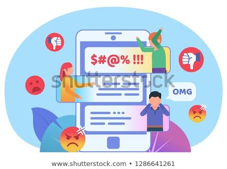 Internet · örnek · bilgisayar · ekranı · atış · tarayıcı - stok fotoğraf © devon