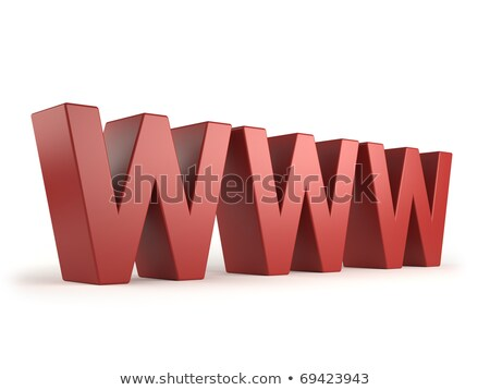big www letters Stock photo © experimental