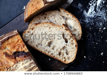 sliced fresh bread stock photo © shutswis