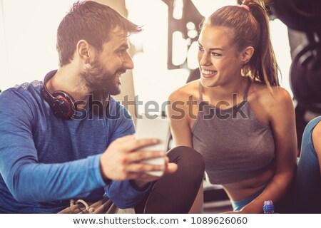 spor · salonu · kadın · kız · model - stok fotoğraf © photography33