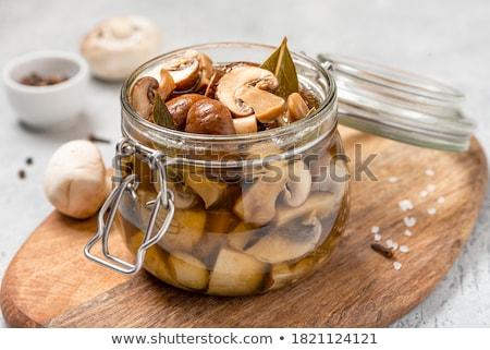 осень · продовольствие · стекла · саду · кухне · еды - Сток-фото © manaemedia
