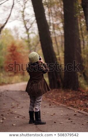 портрет девочку фотограф улыбка образование экране Сток-фото © photography33