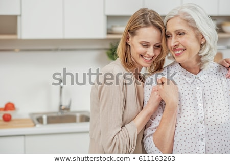 portrait of mother and daughter stock photo © photography33