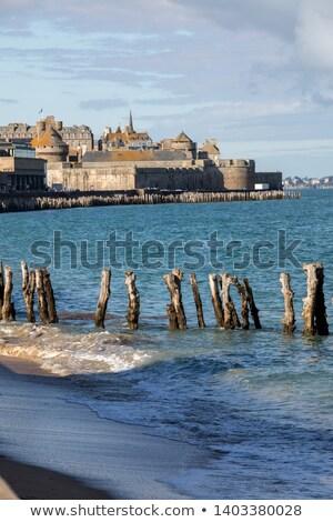 форт святой Франция крепость острове пляж Сток-фото © neirfy