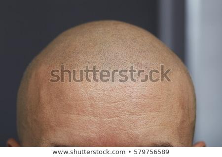 Saç dövme genç kadın boyalı seksi moda Stok fotoğraf © mtoome