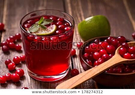 jugo · mesa · de · madera · frutas · mesa · beber - foto stock © Masha