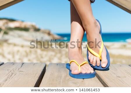 Female Flip-Flops Stock photo © cosma