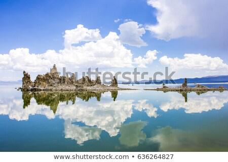 Göl su doğa manzara çöl güzellik Stok fotoğraf © snyfer