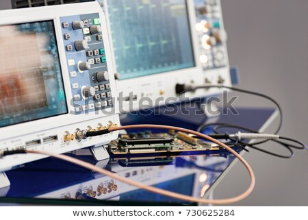 Abstract device for electricity measurement Stock photo © vavlt