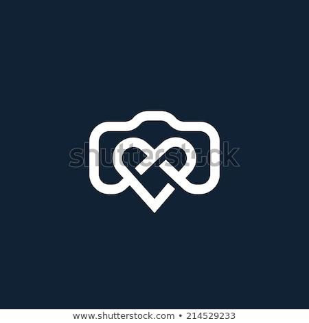 coração · logotipo · negócio · filme · tecnologia - foto stock © shawlinmohd