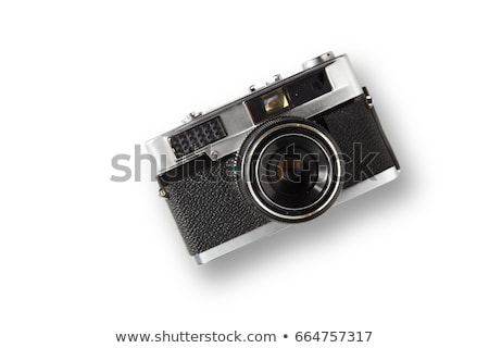 Digital camera with clipping path. Stock photo © sqback