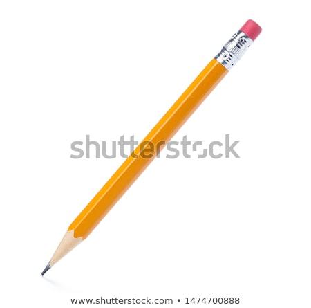 Graphite pencil - white background Stock photo © supersaiyan3