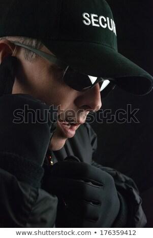 rapporten · microfoon · situatie · concert - stockfoto © jackethead