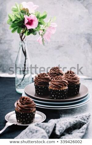 Elegant Cupcake Chocolates Stock photo © songbird