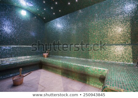 Stock photo: Inside of a Turkish steam bath