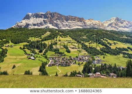 Panoráma hegyek völgy égbolt természet otthon Stock fotó © Antonio-S