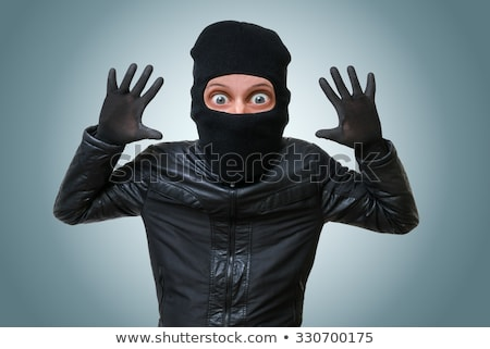 thief hands up Stock photo © tiero