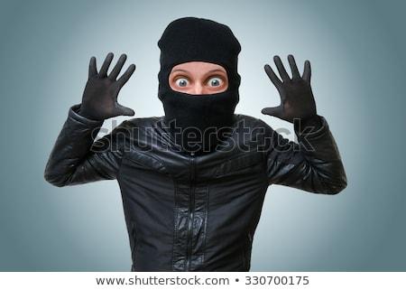 thief hands up Stock photo © tiero