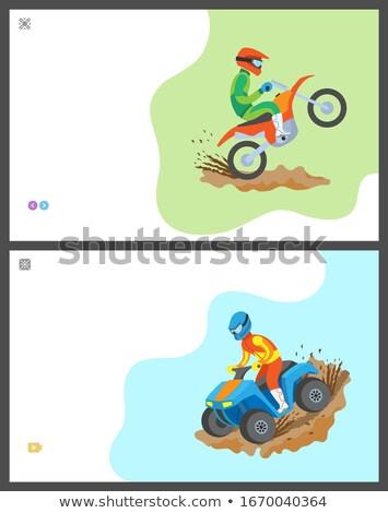 白 現代 ヘルメット 孤立した 自転車 ストックフォト © Kor