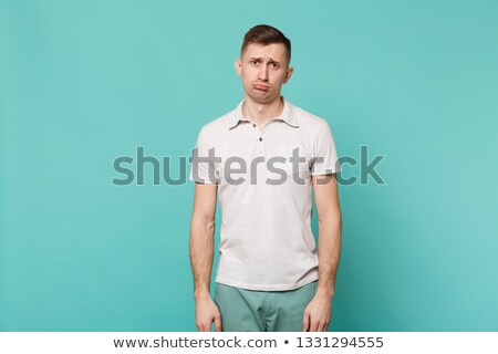 Depressed Man Portrait Stock photo © stevanovicigor
