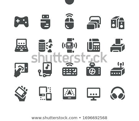 Usb drive 30 achtergrond software Stockfoto © mady70