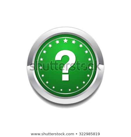 Stok fotoğraf: Help Circular Vector Greenweb Icon Button