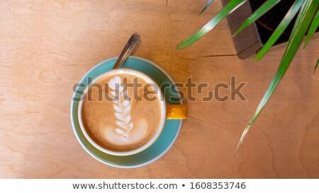 カフェイン · 渦 · 抽象的な · コーヒー · ドリンク - ストックフォト © sfinks