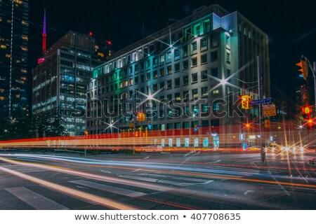 квадратный улице Торонто занят город Сток-фото © pictureguy