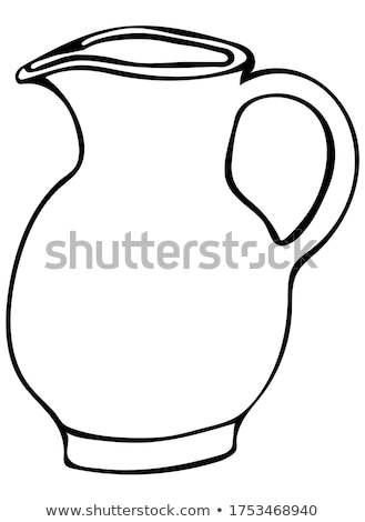doodle jug of milk Stock photo © netkov1