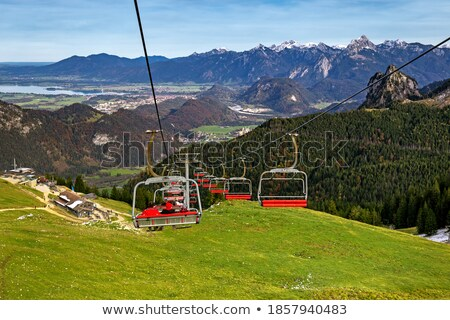 chairlift bavaria alps stock photo © w20er