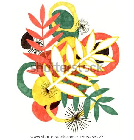 abstrato · colorido · arco-íris · fundo · onda - foto stock © pathakdesigner