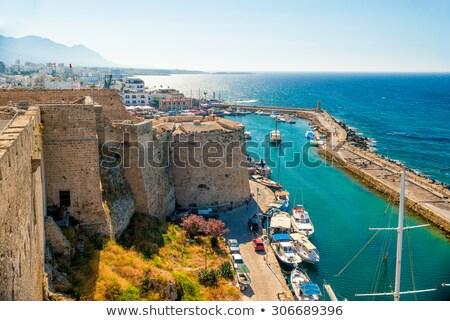 castillo · vista · veneciano · torre · Chipre · edificio - foto stock © Kirill_M