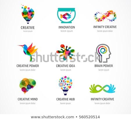 Power of creative thinking Stock photo © stevanovicigor