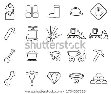 Dynamite and detonator line icon. Stock photo © RAStudio