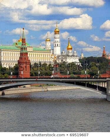 Церкви · купол · Кремль · Москва · небе · крест - Сток-фото © aikon