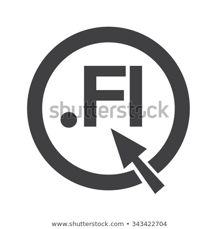 Finland Domain dot FI sign icon Illustration Stock photo © kiddaikiddee