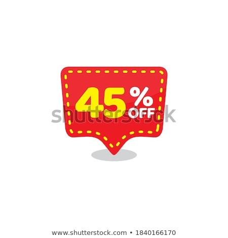 45% Off Stock photo © idesign