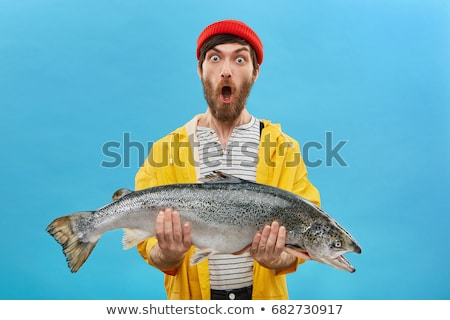 Yellow big fish Stock photo © bluering