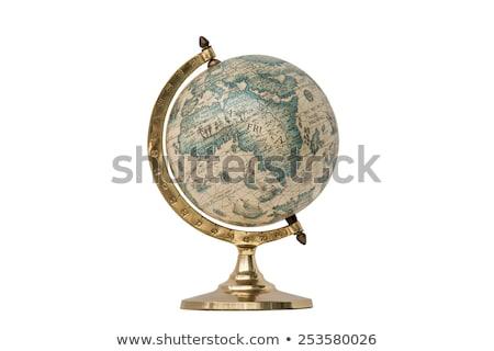 Velho globo mundo bola planeta história Foto stock © dmitroza