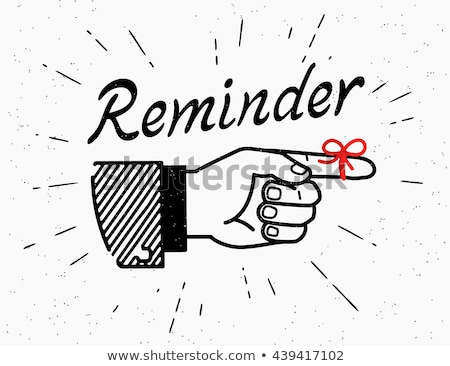Don't forget to remember lettering Stock photo © zsooofija