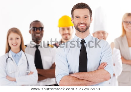 Office workers in different uniforms Stock photo © bluering