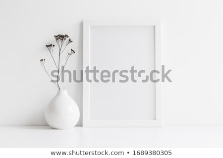 Room detail with picture frame Stock photo © stevanovicigor