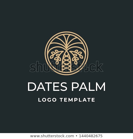 Date Palm Abstract Stock photo © zambezi