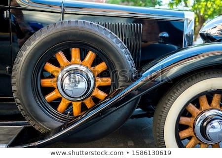 Pojazd biały tle stali graficzne struktury Zdjęcia stock © bluering