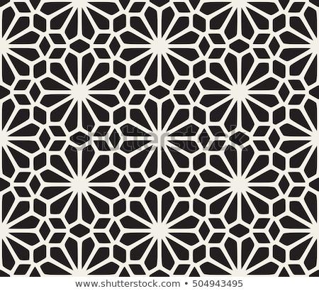 Vettore senza soluzione di continuità bianco nero triangolo griglia disegno geometrico Foto d'archivio © CreatorsClub