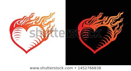 resumen · fuego · llama · luz · eps · 10 - foto stock © beholdereye