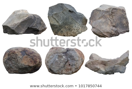rock stone set stock photo © andrei_