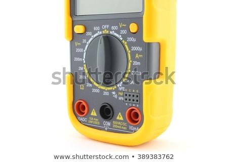 digital multimeter selector knob stock photo © clarion450