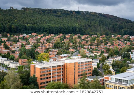 Zlin industrial district Stock photo © hamik